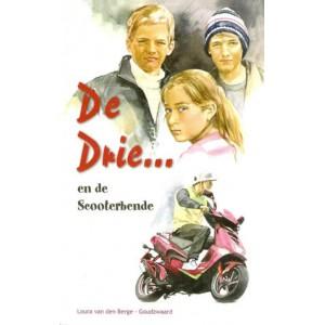 De Drie ... en de scooterbende, L van de Berge-Goudzwaard (herdruk)