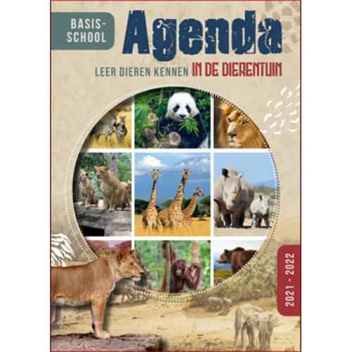 Basisschoolagenda 2021/22 'Leren dieren kennen uit de dierentuin'