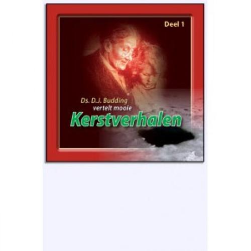 CD: Ds. D.J. Budding vertelt mooie Kerstverhalen, deel 1, deel luisterboekenset