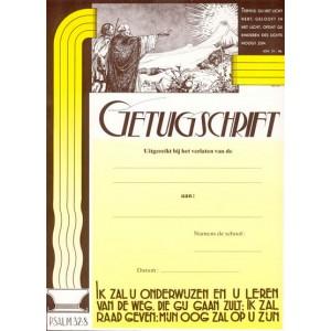 Oud getuigschrift