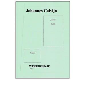 Werkboekje - Johannes Calvijn + knipvel