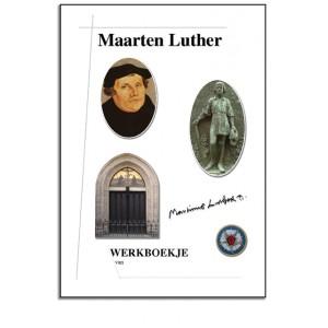 Werkboekje - Maarten Luther + knipvel