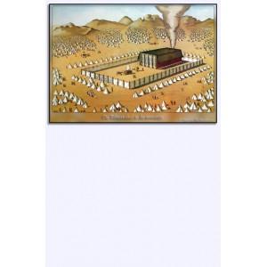 (Mini)poster - De tabernakel in de woestijn