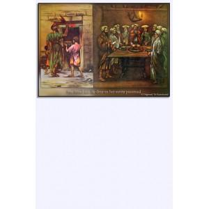 (Mini)poster - Het bloed aan de deuren en het eerste paasmaal