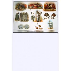 Minipostersset 'Oude schoolplaten', 17 delig
