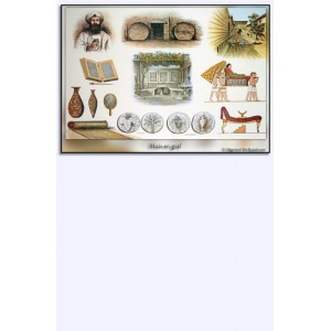 (Mini)poster - Huis en graf