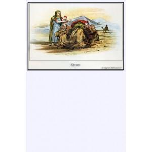 Miniposter - Op reis